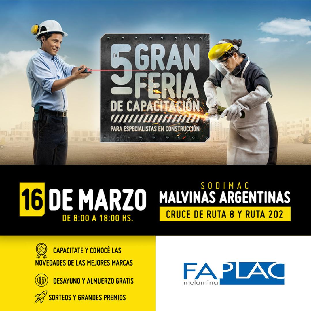 Gran Feria de Capacitación de Sodimac Constructor