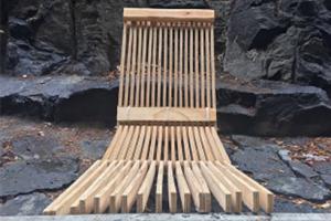Taller Vertical crea mobiliario y pabellones en Bosque Tlalpan, en México, utilizando  productos Arauco