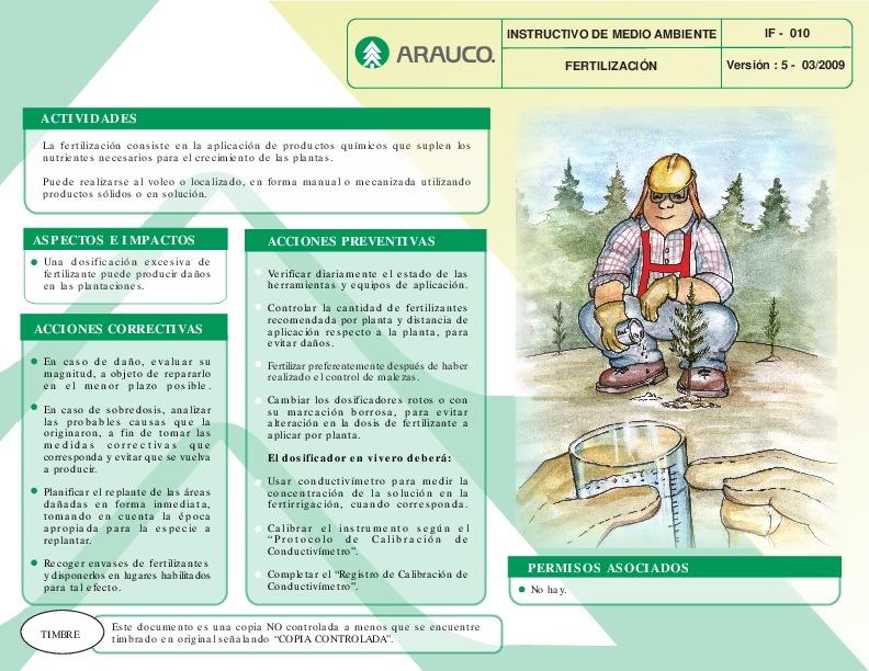 Fertilización (IF 010 V5 03.09)