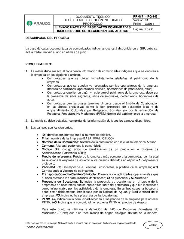 Protocolo Llenado Matriz Comunidades Indígenas Final (pr 17 - pg 443)