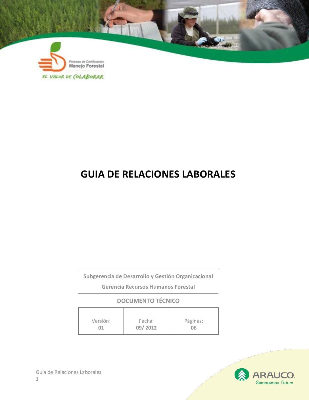 Guía relaciones laborales v1 2012 09