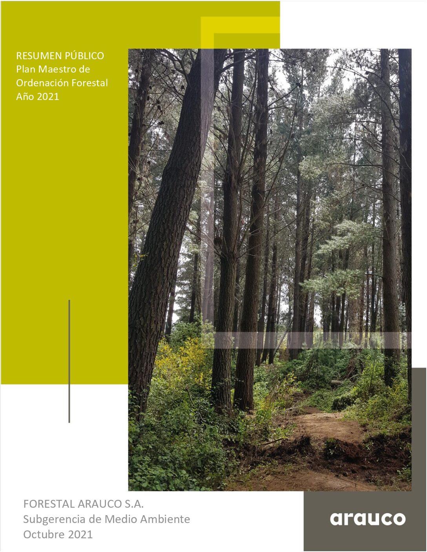 Resumen Público del plan Maestro de Ordenación Forestal 2021