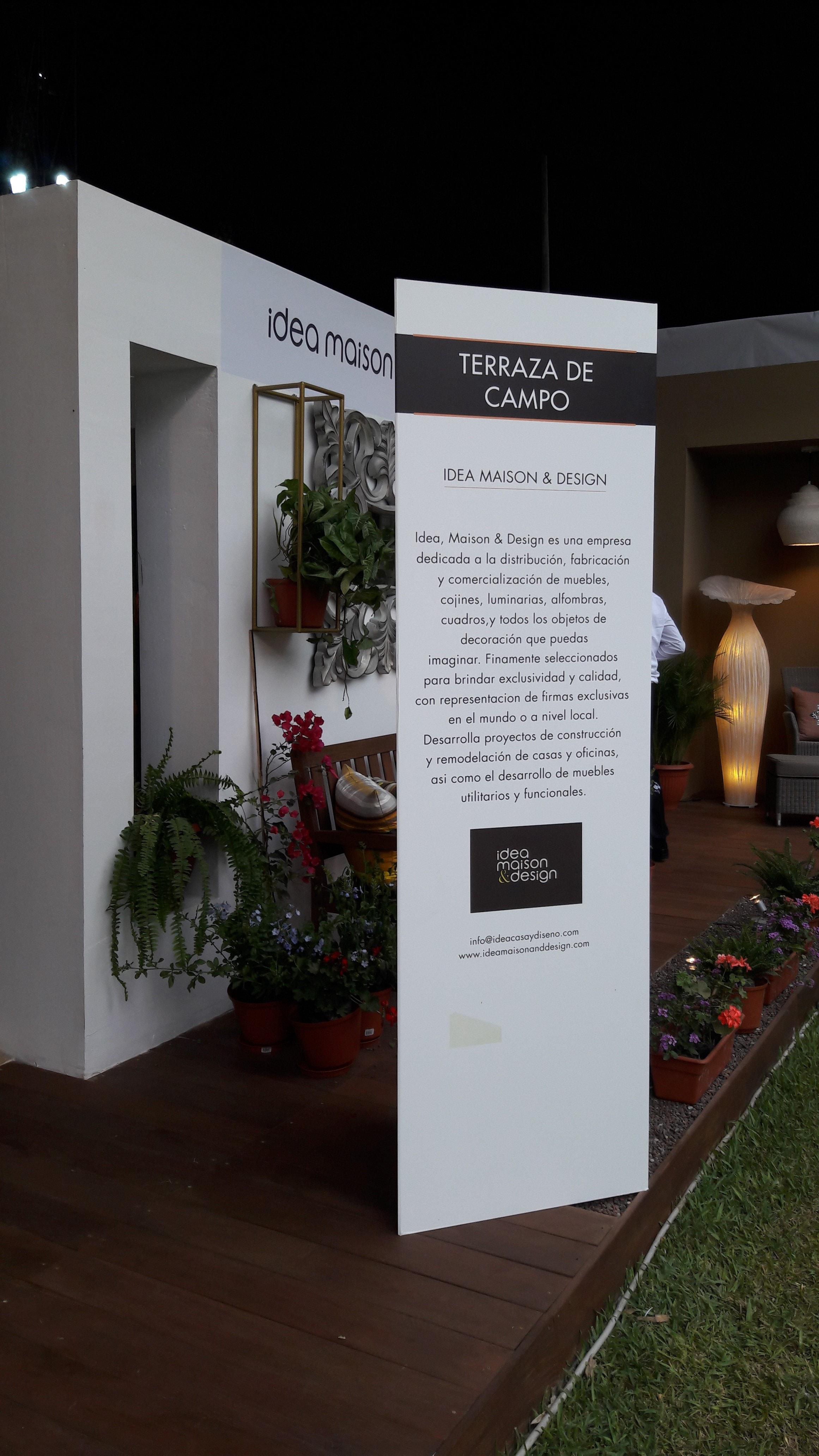 Terraza De Campo Un Espacio Acogedor En Expodeco 2017