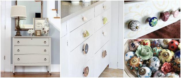 Tiradores: Como transformar un mueble con un detalle ...