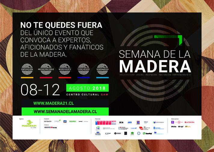 ARAUCO presente en la Semana de la Madera 2018