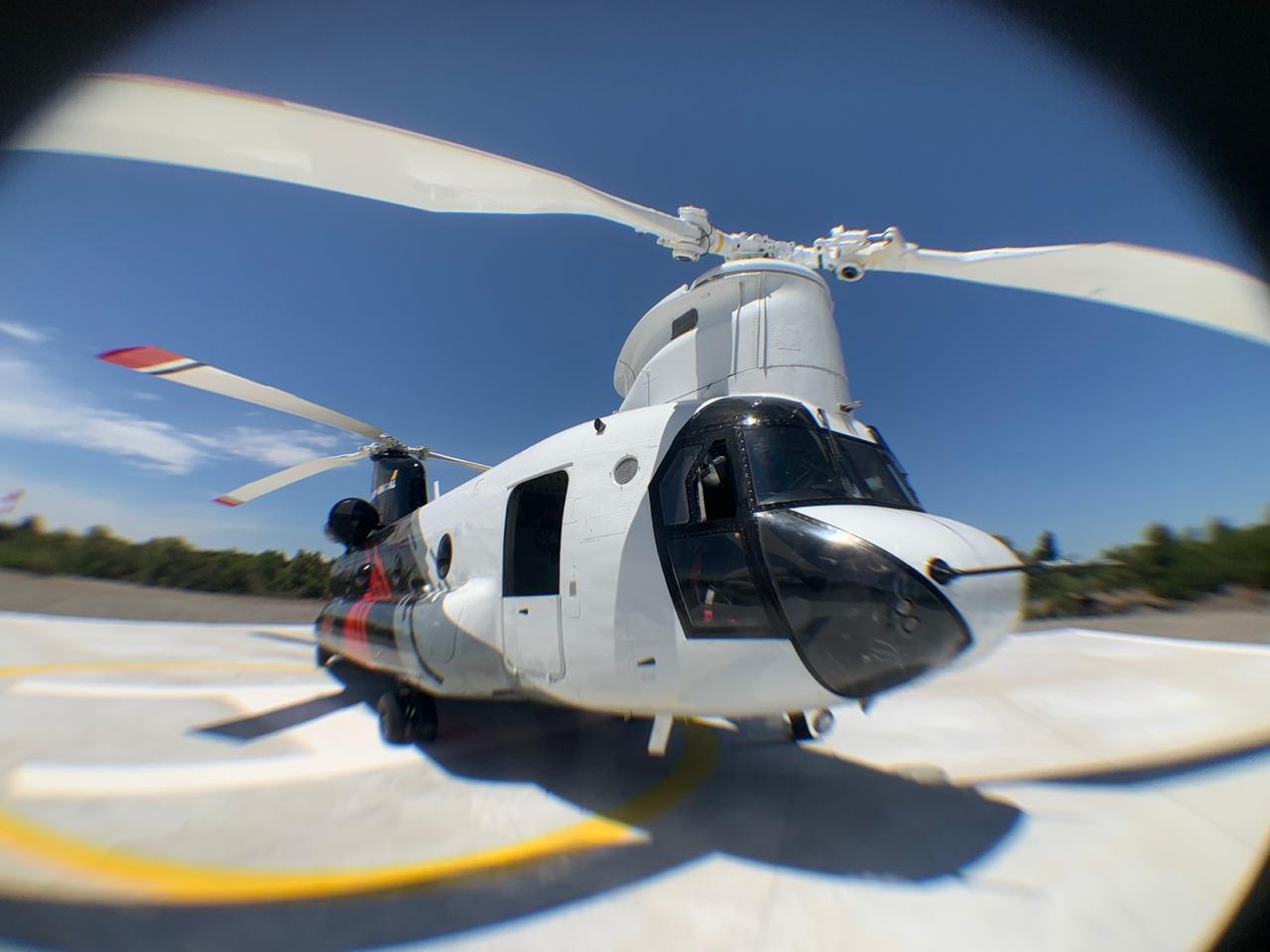 ARAUCO trae nuevos helicópteros para combatir incendios