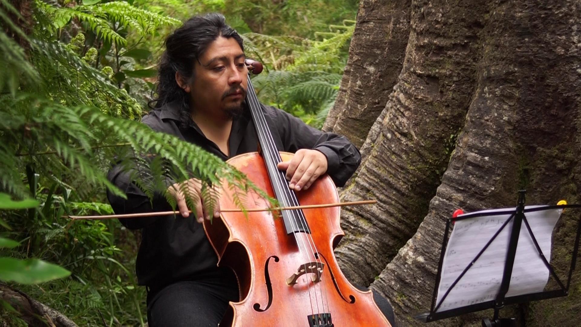 Bosques de Parque Oncol inspiraron una innovadora obra musical