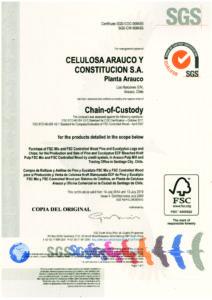 Melamina VESTO es en el primer tablero en el mundo con huella de Carbono Negativa