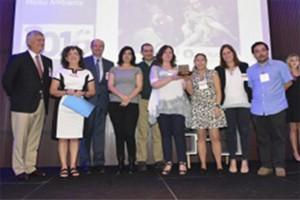 ARAUCO environmental education program awarded by AmCham