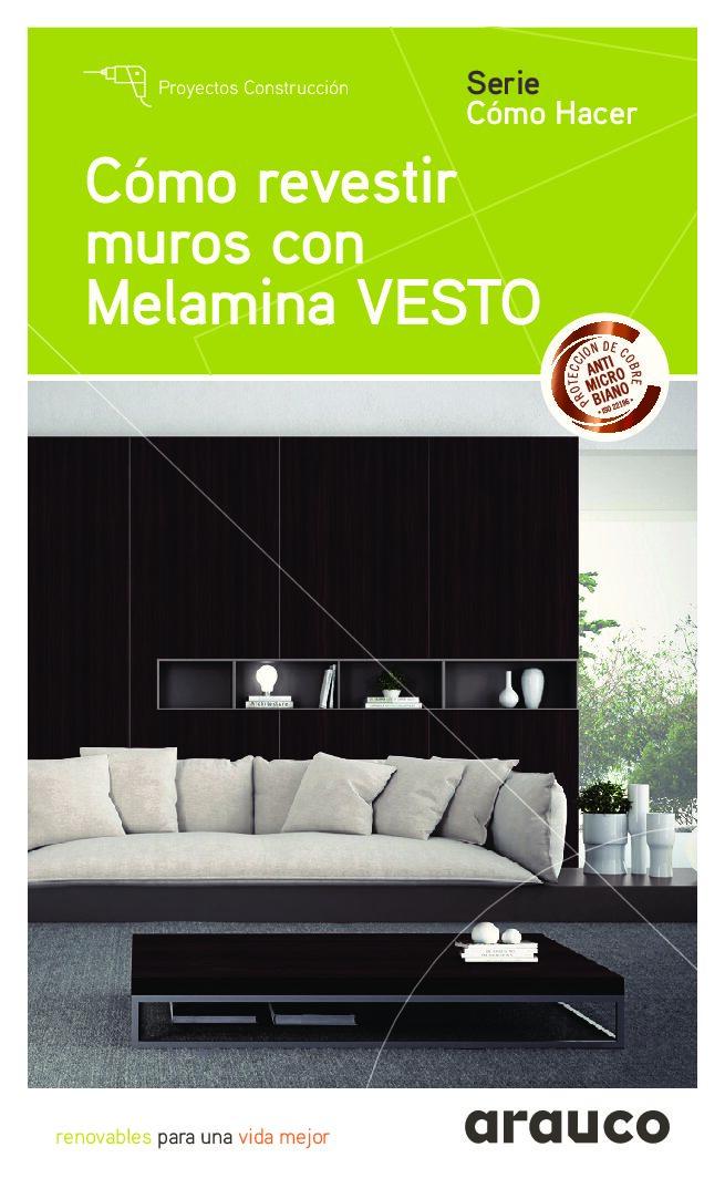 Revestimiento de Paredes interiores con Melamina Vesto