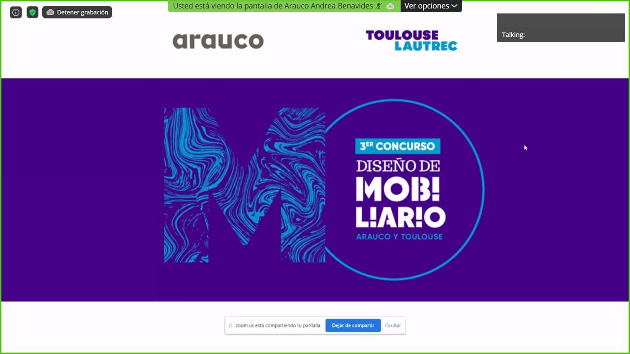 Ganadores 3er Concurso Arauco y Toulouse Lautrec
