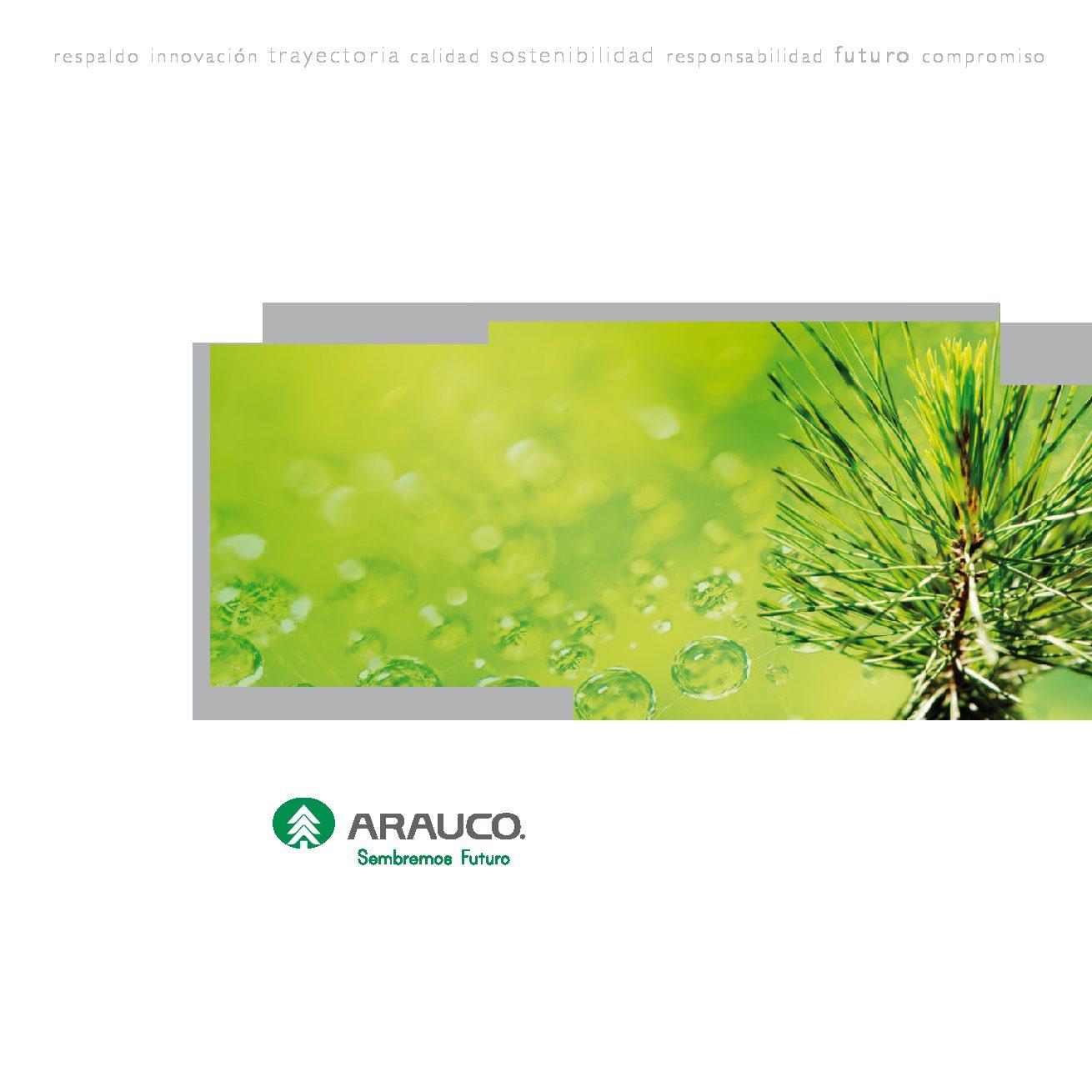 Catálogo ARAUCO