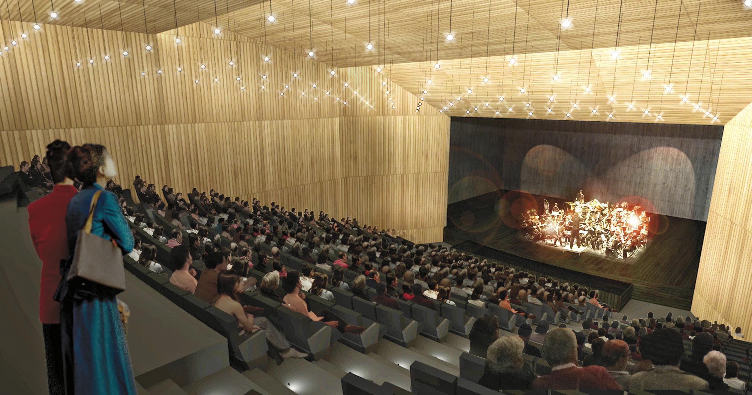 Aprueban financiamiento que faltaba para nuevo Teatro Municipal de Constitución